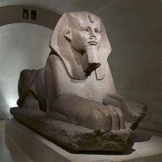 Great Sphinx, circa 2700-2200 before J.‑C.), granite. Louvre Museum, Paris. #sphinx #sculpture #egypt #louvre #antique Louvre Museum, Museum Paris, Sphinx, Sculpture Techniques, Sculptures, Lion Sculpture, Giza, Mythical Creatures, Belle Photo