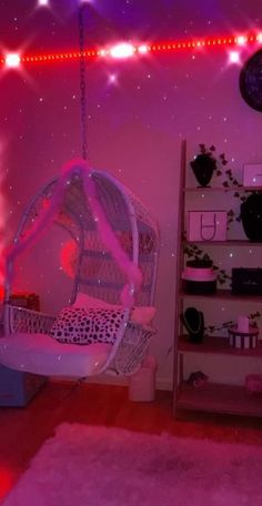 Neon Bedroom, Cute Bedroom Decor, Room Ideas Bedroom, Teen Room Decor, Bedroom Inspo, Hippie Bedroom Decor, Girls Bedroom Wallpaper, Purple Bedrooms, Chill Room