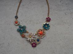 Statement Ketten - exclusive Statementkette Collier Kette Damenkette - ein Designerstück von Das-Kreativ-Stuebchen bei DaWanda