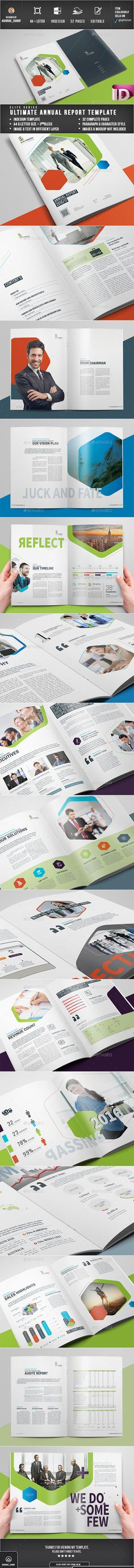 Annual Report - The Company Fonts-logos-icons Pinterest - business annual report template