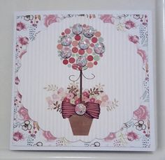 Create with Candi Floral Pad by Craftwork Cards