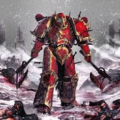 World Eater Chaos Space Marine.