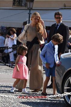 Boy's outfit at Pierre Casiraghi + Beatrice Borromeo wedding