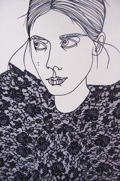 swedish fashion illustrator Liselotte Watkins' works are so good.