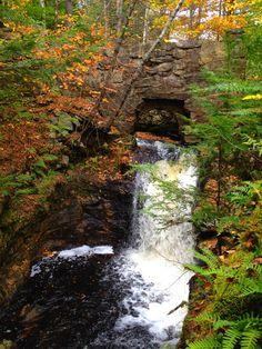 Fall in Maine <3  Snow Falls West Paris