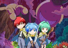 Imagen promocional y artista de opening para la serie de Anime de Koro-sensei Q!.