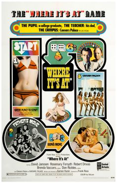 """""""Where It's At"""" Movie Poster, 1969"""