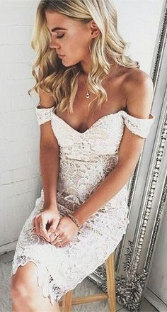 Pencil Prom Dress,Lace Prom Dress,Off The Shoulder Prom
