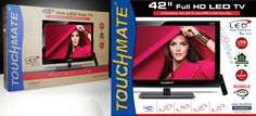 "Touchmate 42"" Full HD LED TV 999 AED Only/-"