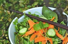 Watercress, cucumber, carrot salad recipe - Chatelaine.com