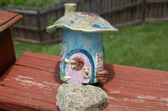 The Wing Repair ShopHandmade Ceramic Fairy by AugustaWyndeDesigns, $35.00