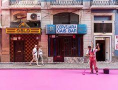 Pink street @ Lisbon