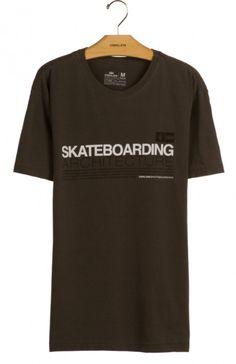 Osklen - T-SHIRT STONE SKATEBOARDING ARCHITECTURE - t-shirts - men
