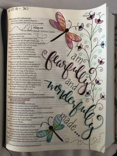 5.5.18-My first bible journaling page.