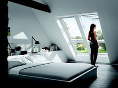 Indescribable Attic room insulation grants,Attic renovation uk and Attic remodel ideas. Attic Bedroom Designs, Attic Bedroom Small, Attic Bedrooms, Attic Design, Attic Bathroom, Attic Spaces, Small Spaces, Interior Design, Bathroom Ideas