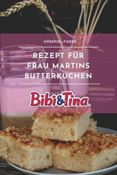 (Advertisement and competition) Ms. Martin& butter cake and a great Bibi & Tina passion - Today is music - Are you also such big Bibi & Tina fans? With the recipe fro - Easy Vanilla Cake Recipe, Easy Cake Recipes, Fish Recipes, Baking Recipes, Geek House, Music Cakes, B Food, Baking With Kids, Bibi Tina