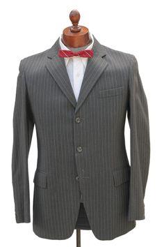 Cabaret Vintage - 1960s Mens Pinstripe Dark Grey Suit , $265.00 (http://www.cabaretvintage.com/mens/1960s-mens-pinstripe-dark-grey-suit/)   #vintage #cabaretvintage #toronto #queenwest #fashion #style #beauty #dress #vintagefashion #vintagestyle