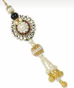 Pretty pearl rakhi designs for you to choose for this raksha bandhan. Check out amazing rakhi collection on Ethnico.  #rakhi #festival #festiveseason #pearl #rakshabandhan #ethnico
