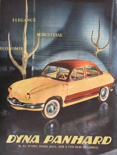 DYNA PANHARD French advertisement