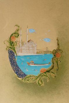 likely turkish miniature.  so pretty.