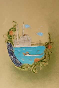 likely turkish miniature.  so pretty.