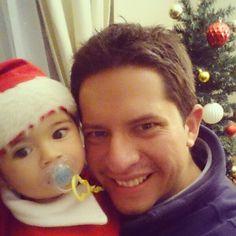 ¡Llegó el Viejo Pascuero! #Navidad #Familia #Amor #NocheBuena