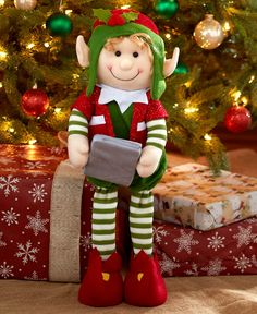 2-Ft. Decorative Holiday Elves LTD Commodities