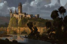 ArtStation - Castle_03, Daniel Correia