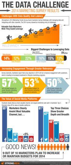 2014 Marketing Trends: The data challenge - Tendencias en marketing para 2014: los datos