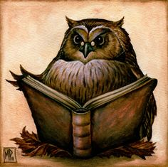 Wise Owl - The Fantasy Art of Marc Potts