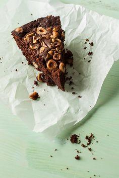 Nutella Hazelnut Skillet Cake