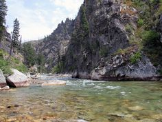 middle fork of the boise river...best place to camp and fish!!!