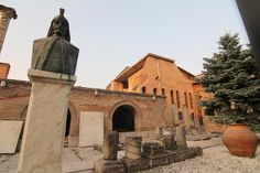 """The Old Princely Court was once the palatial home of Romania's most notorious ruler, """"Vlad the Impaler."""""""