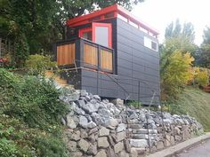 ModernShed Dwelling Dwelling Units Pinterest Modern Tiny