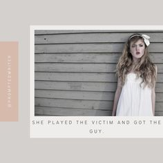 @AmberravWrites posted to Instagram: She played the victim and got the guy. #writingprompt #writersblock #amwriting #writerscommunity #instawriting #spilledthoughts #writingislife #christianfiction #christianwriters #fictionwriter #writerslife #aspiringwriter #promptedtowrite #acfwcommunity #writingprompts #amwritingya #quotes #cleanromance #write #storyideas #prompt #writersofinstagram #writersofig #writing #writersnetwork #aspiringwriters #storystarter #promptedwriter #embersgram⠀ #fictio Get The Guy, Story Starters, The Victim, Writing Prompts, Quotes, Instagram, Quotations, Quote, Shut Up Quotes