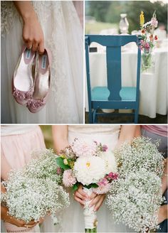 baby's breath bouquets - charming, simple, & airy