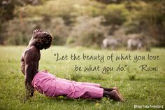 THE LOVE OF SERVICE - africa yoga project