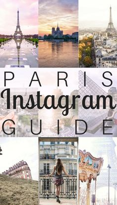 Instagram guide to Paris, France