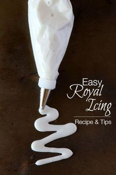 My easy royal icing recipe is perfect for cookies, treats, and more! The best part is that it's egg-free and uses ingredients you probably already have.