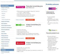 KREDYTY KONSOLIDACYJNE https://kubuszek.produktyfinansowe.pl/kredyty-konsolidacyjne.html