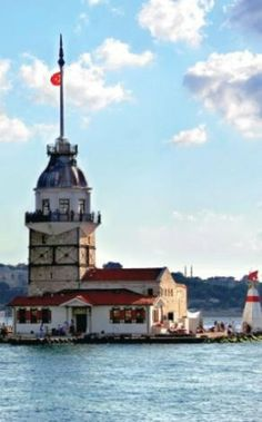 Turkey Tourism, Turkey Travel, Turkey Photos, Istanbul City, Cn Tower, Travel Videos, Wonderful Places, Lighthouse, Places To See