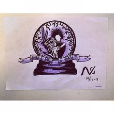 My second Edward Scissorhands tattoo drawing