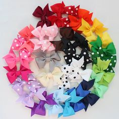 love bows so one in everyone color would be extremely nice :) want them for Christmas.. #obsessed