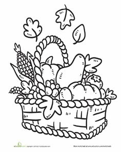 Bread Coloring Page Worksheets Life skills and Food