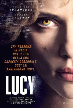 "New Scarlett Johansson ""Lucy"" Poster...love her, hated the movie though :("