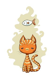 'Ginger Cat' by Freeminds