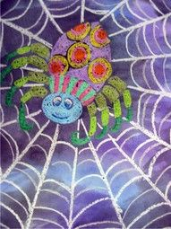 kindergarten art pattern - I want to do this web then use model magic and pipe cleaners to make the spider to add dimension.