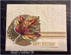 Vintage Leaves by terrial - Cards and Paper Crafts at Splitcoaststampers