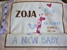 Personalizovaná deka pre dievčatko
