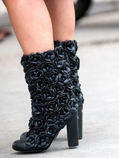 Bonjour, Paris: Chanel boots
